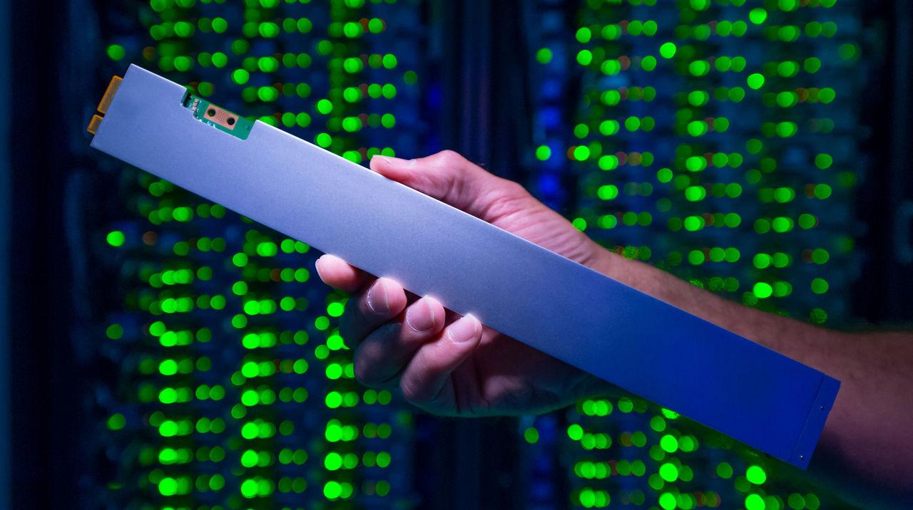 Nu släpper Intel sin coola serverlagring