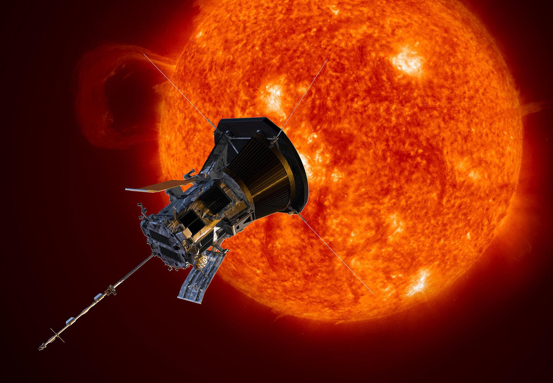 Nu är Parker Solar Probe på väg mot solen