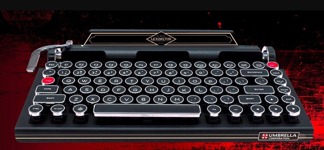 Capcom släpper ett tangentbord