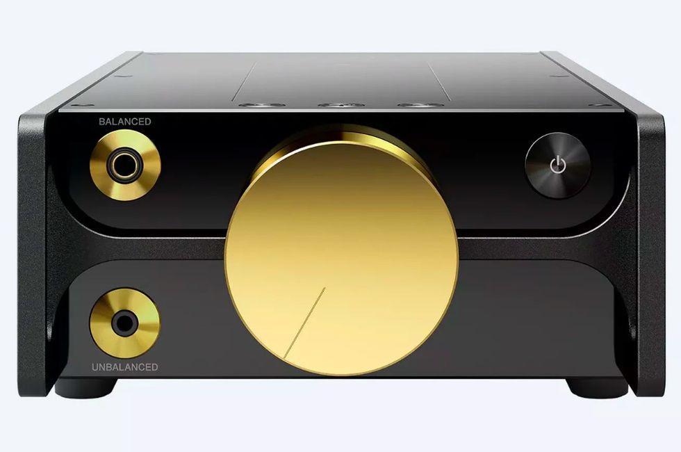Sony DMP-Z1 har en guldpläterad volymknapp