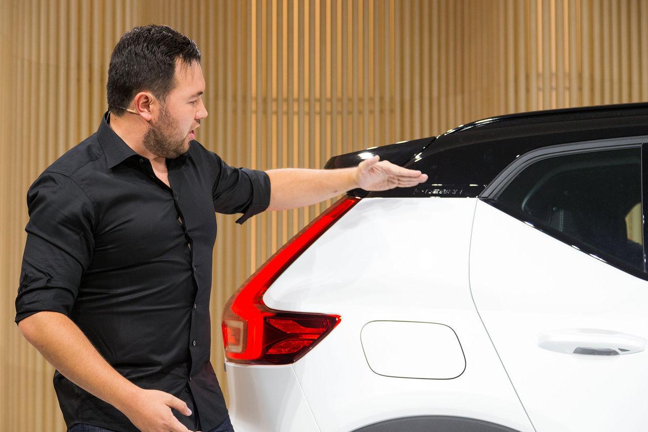 Volvo XC40-designer börja jobba på Tesla