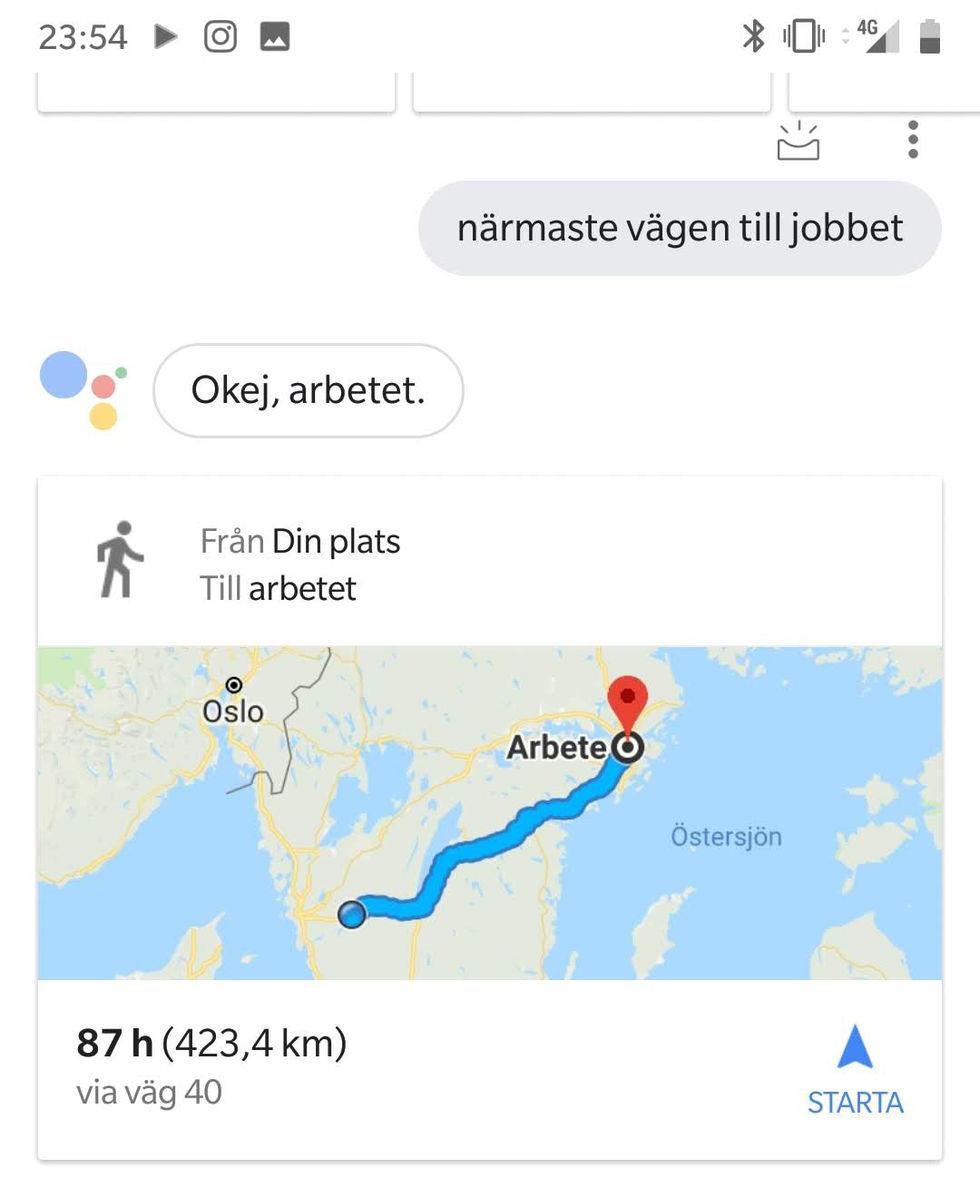Nu börjar Google Assistant snacka svenska! Google Assistent lanseras ... 7821f162f981c