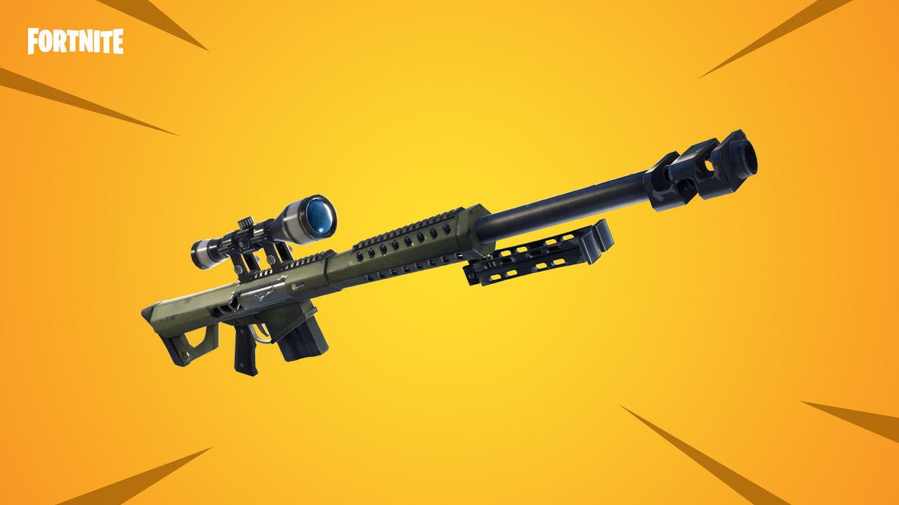 Fortnite: Battle Royale får Heavy Sniper