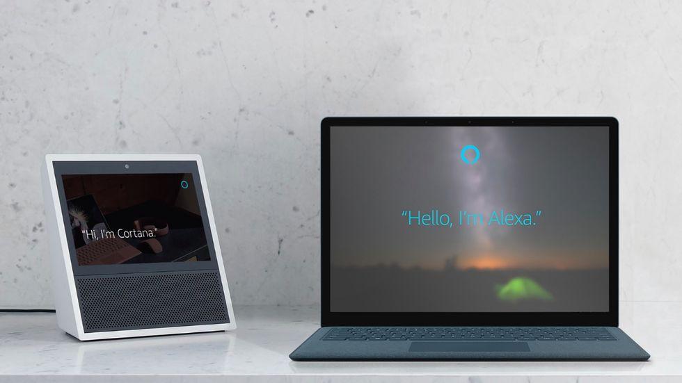 Nu kan Alexa och Cortana prata med varandra