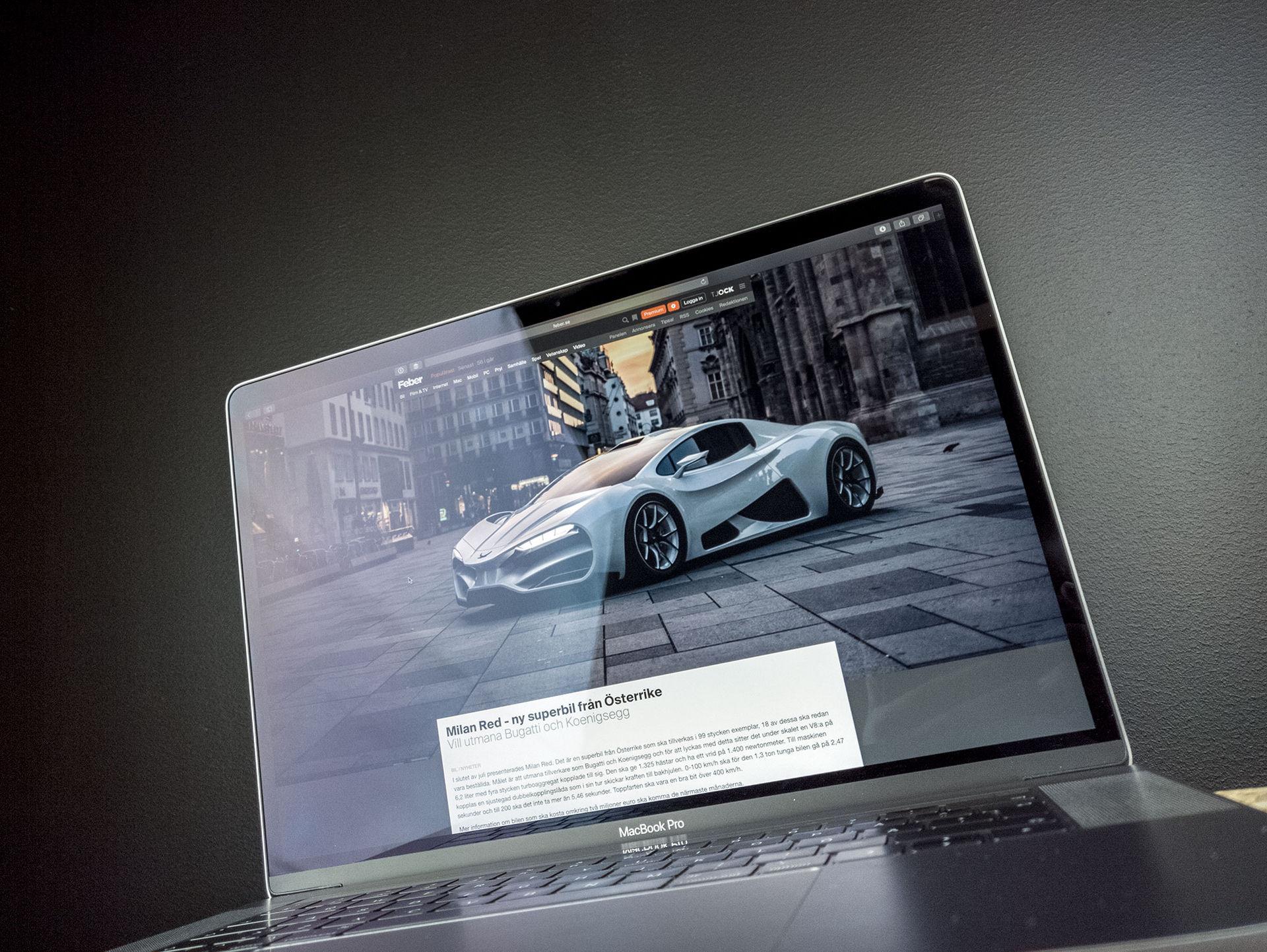 Vi har provkört den fetaste MacBook Pron någonsin