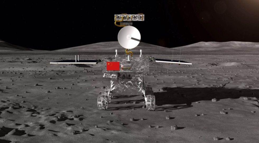 Kina visar upp sin månlandare
