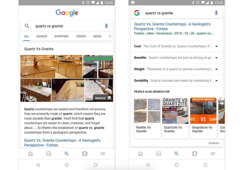Google börjar visa relaterade sökningar
