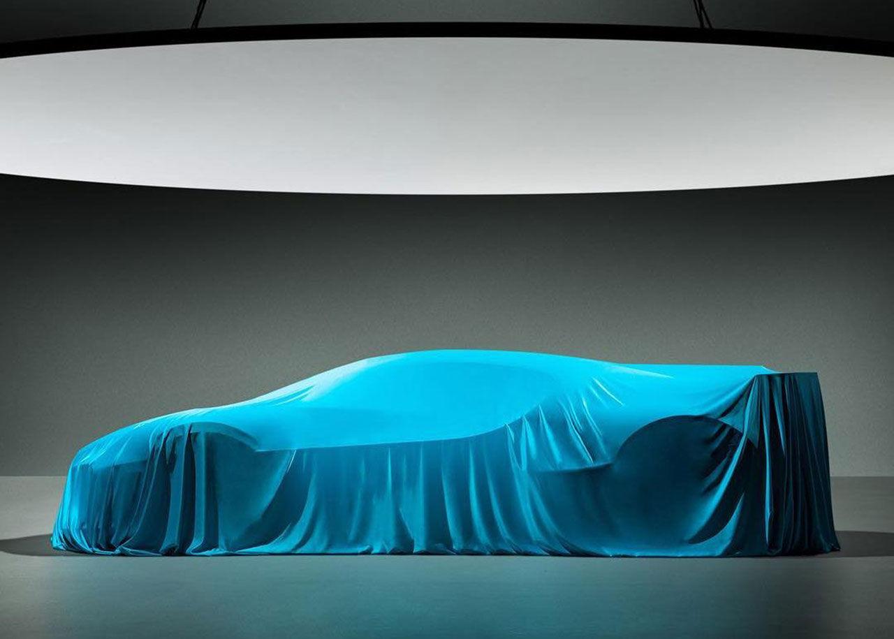 En sista teaser på Bugatti Chiron Divo