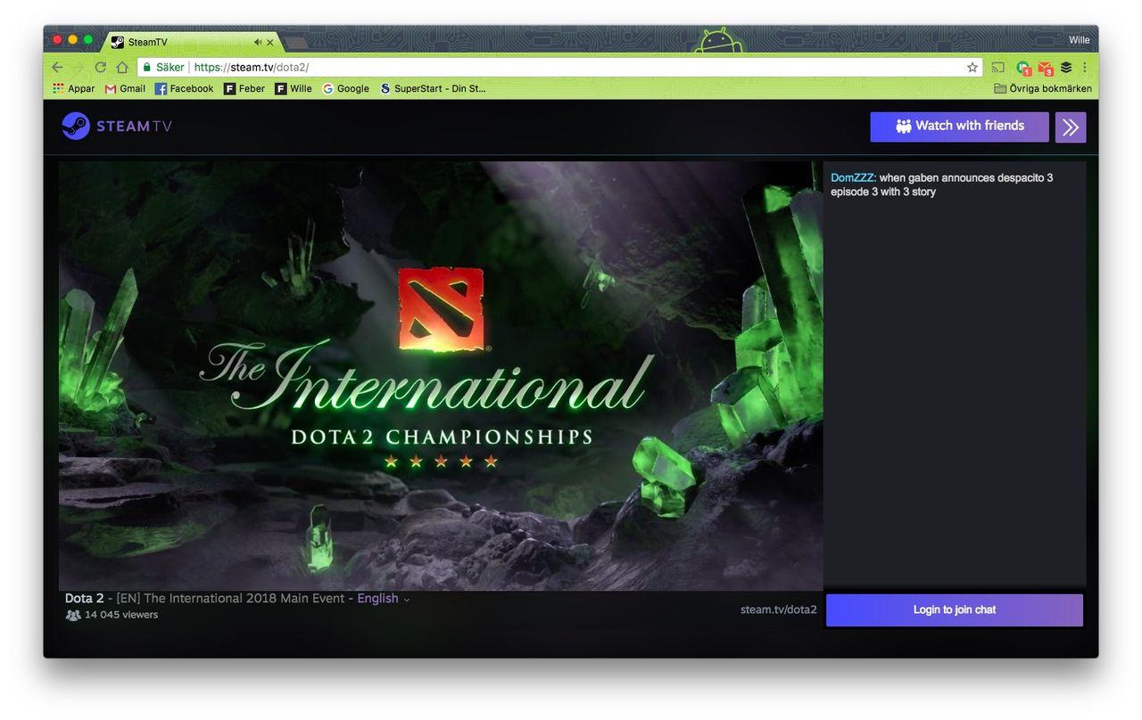 Valve lanserar Steam.tv