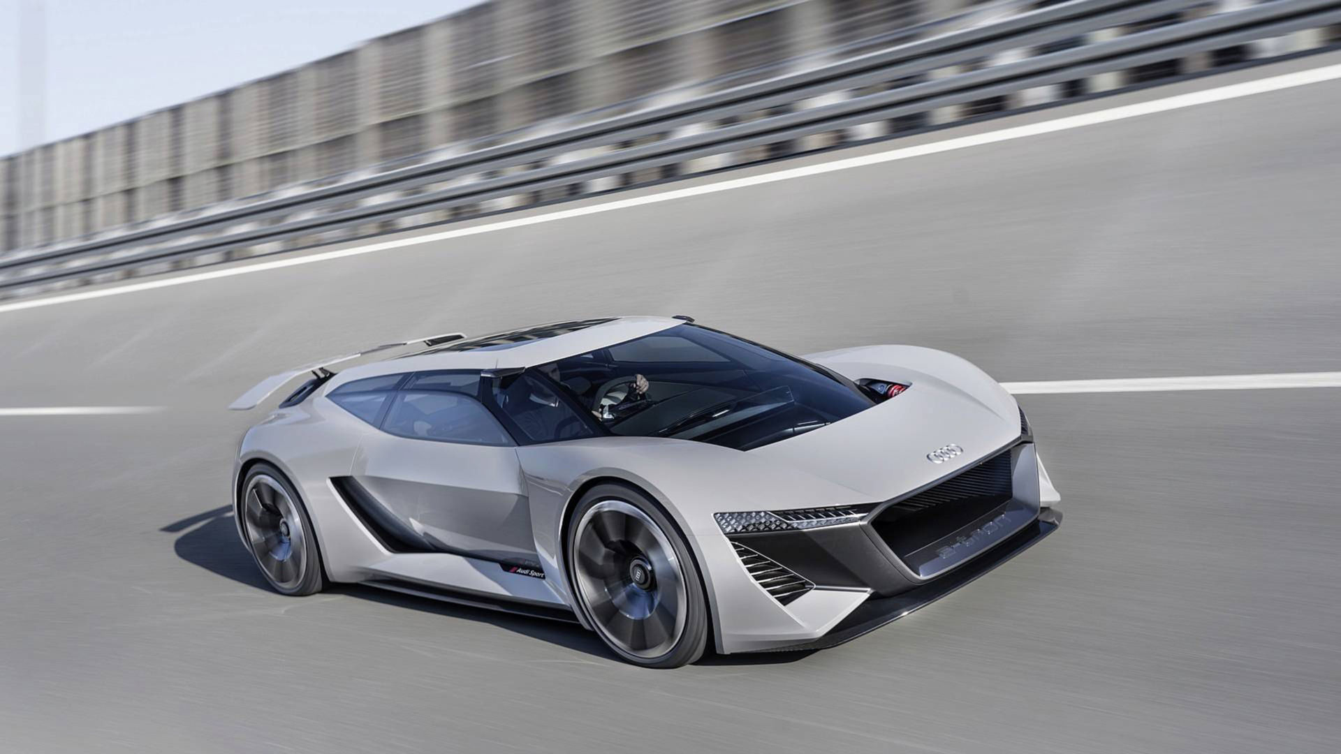 Audi rullar ut konceptbilen PB18 e-tron