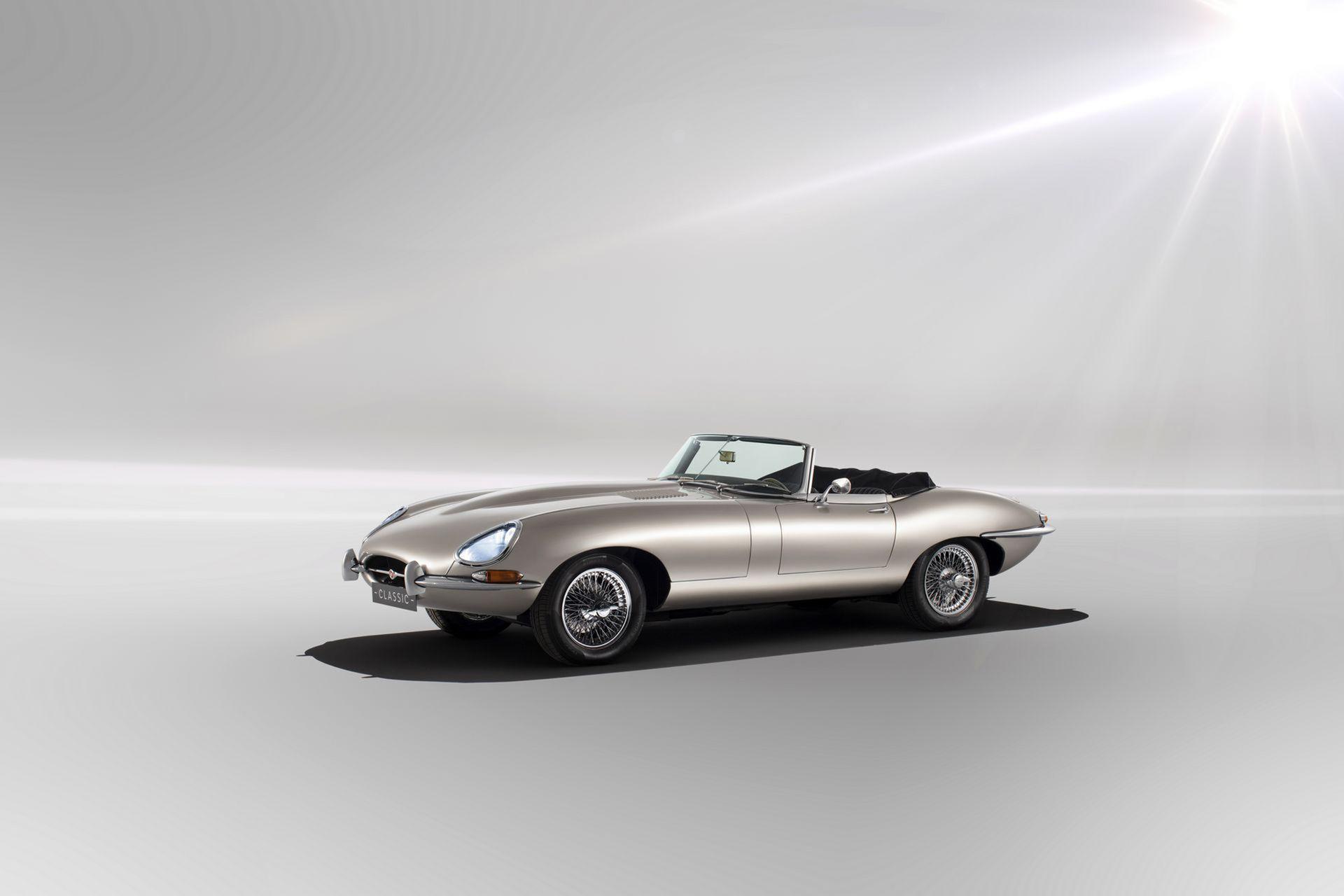 Jaguar kommer att bygga eldriven E-Type