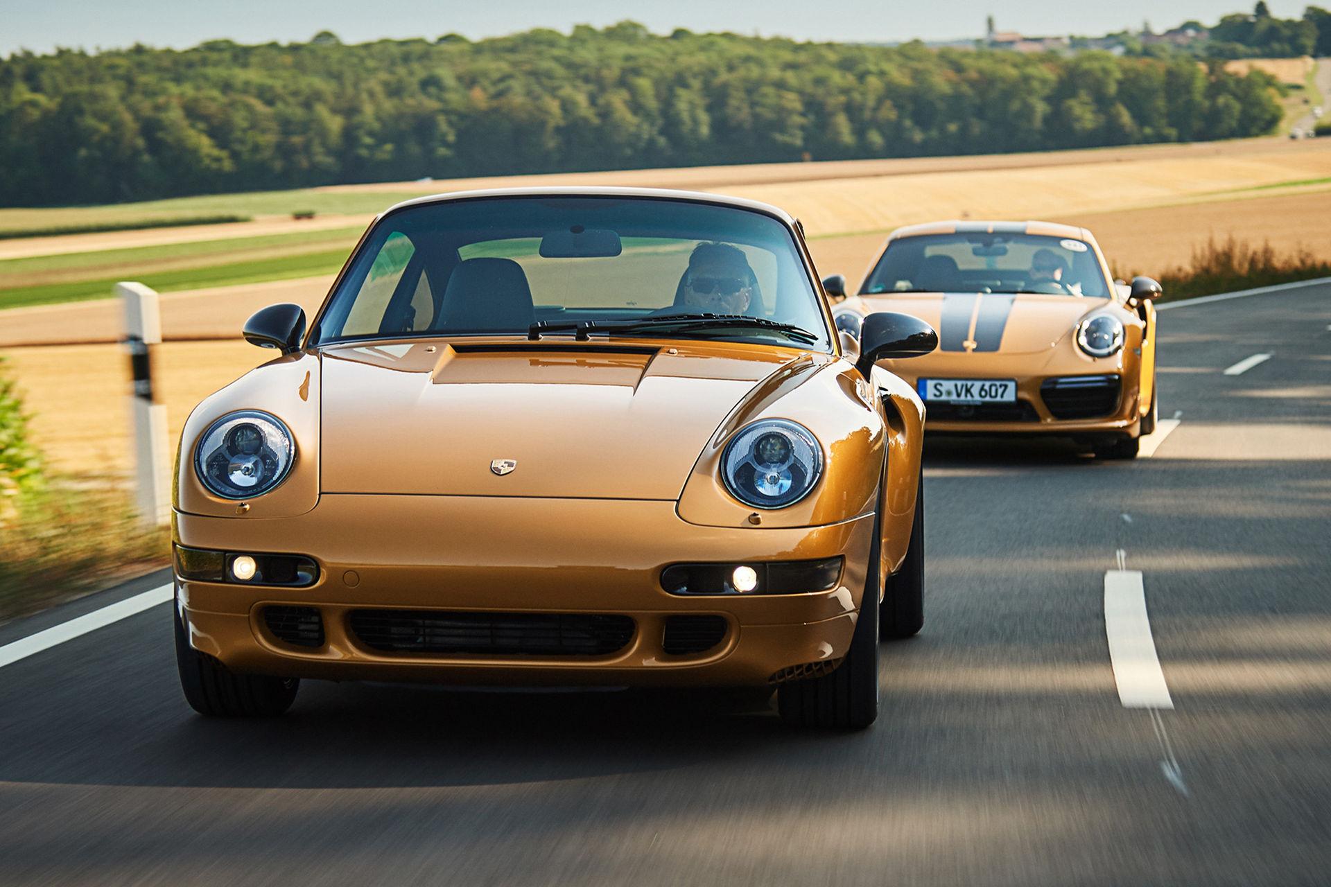 Porsche har byggt en ny 993 Turbo