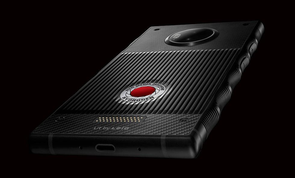 RED visar upp lite bilder på Hydrogen One