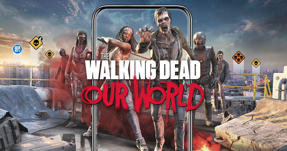 Snubbe gripen efter att ha postat klipp från Walking Dead-spel