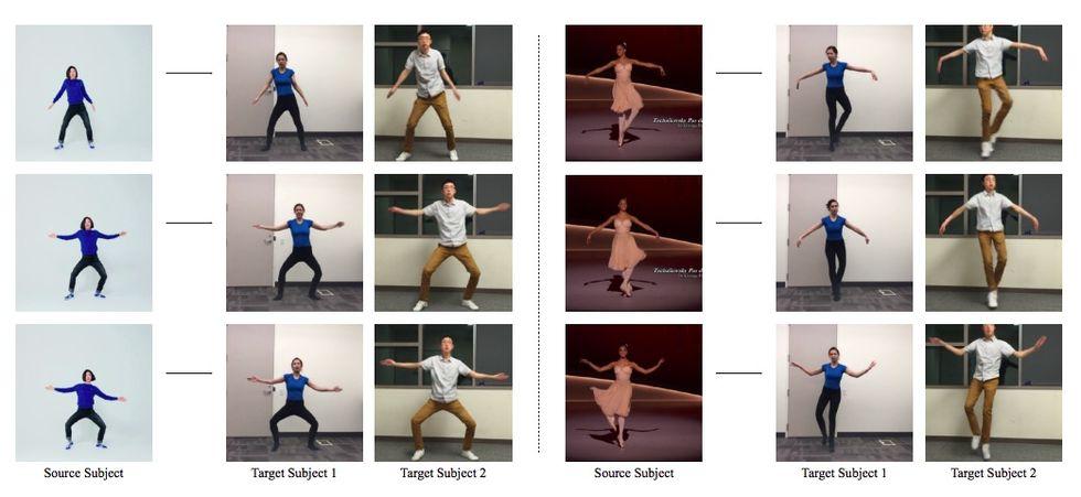 Fejka att du dansar bra med artificiell intelligens