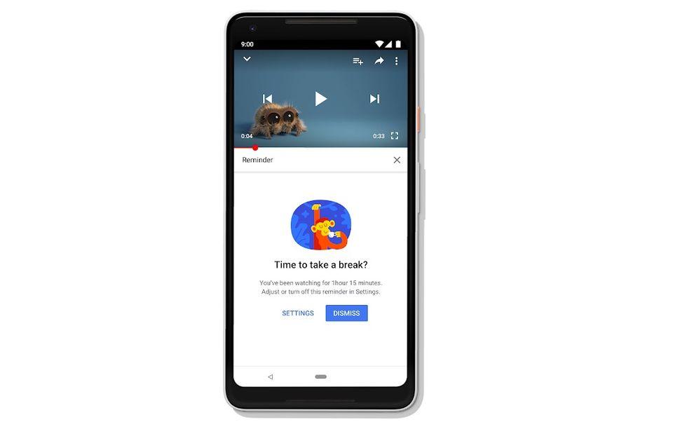 Håll koll på hur mycket du tittar på YouTube
