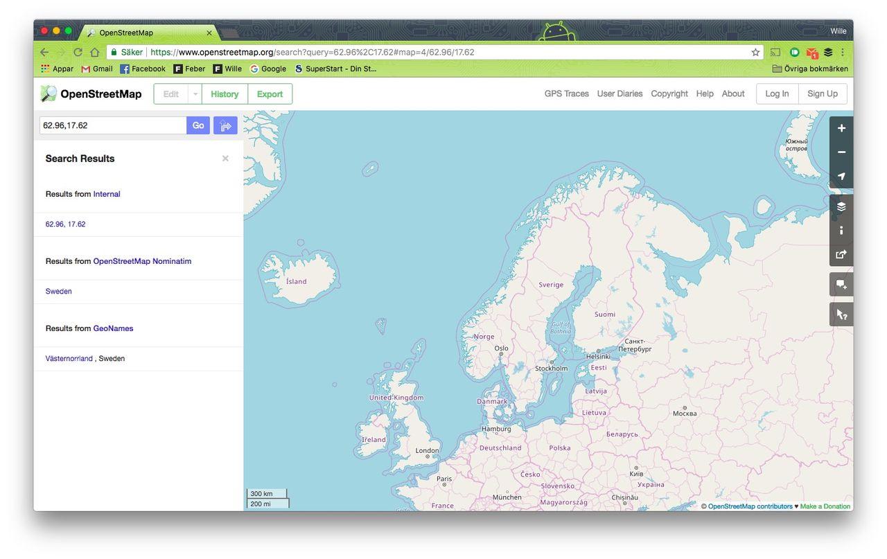 Techföretag hjälper till att bygga OpenStreetMap