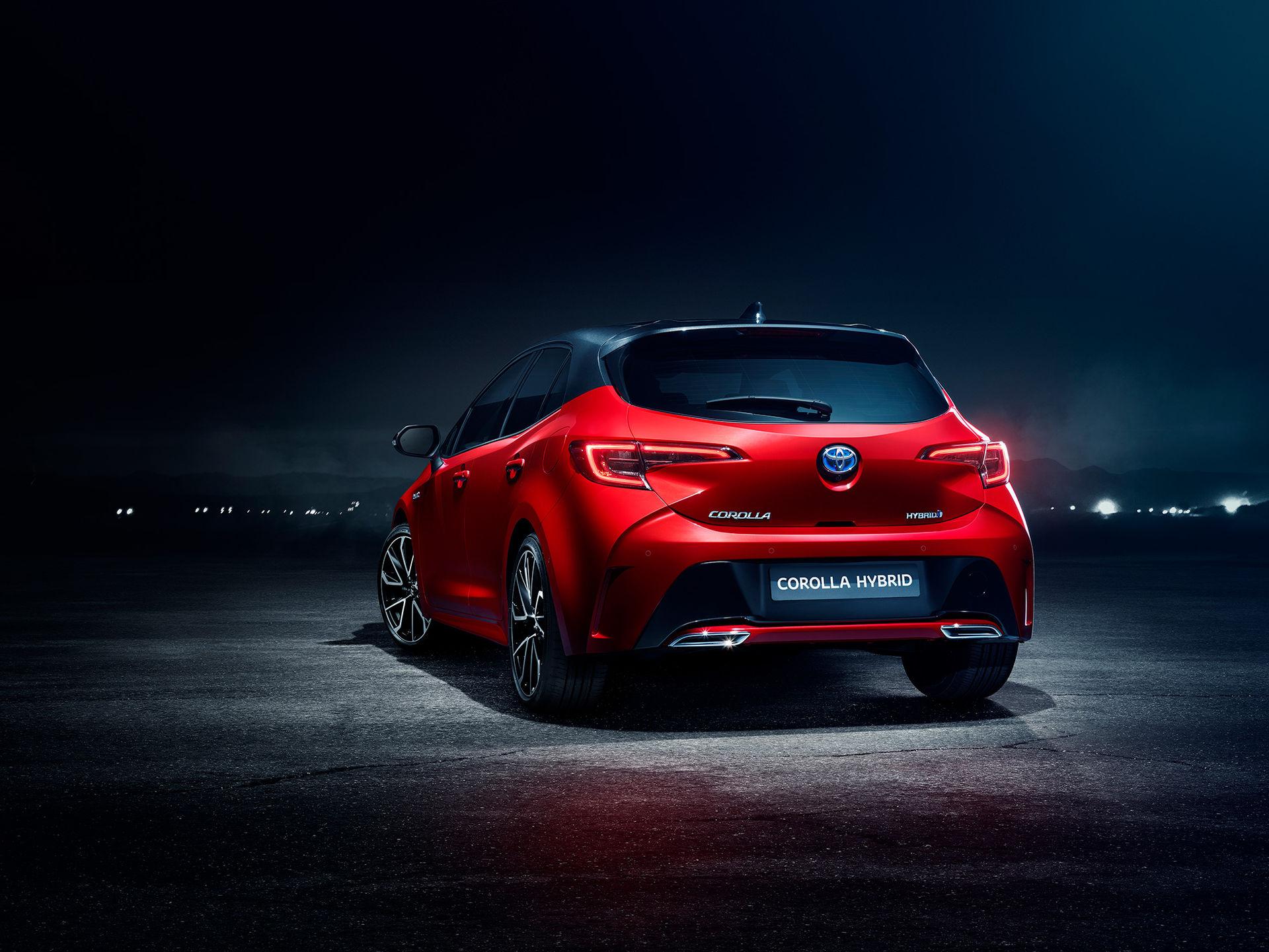 Toyota återupplivar modellnamnet Corolla