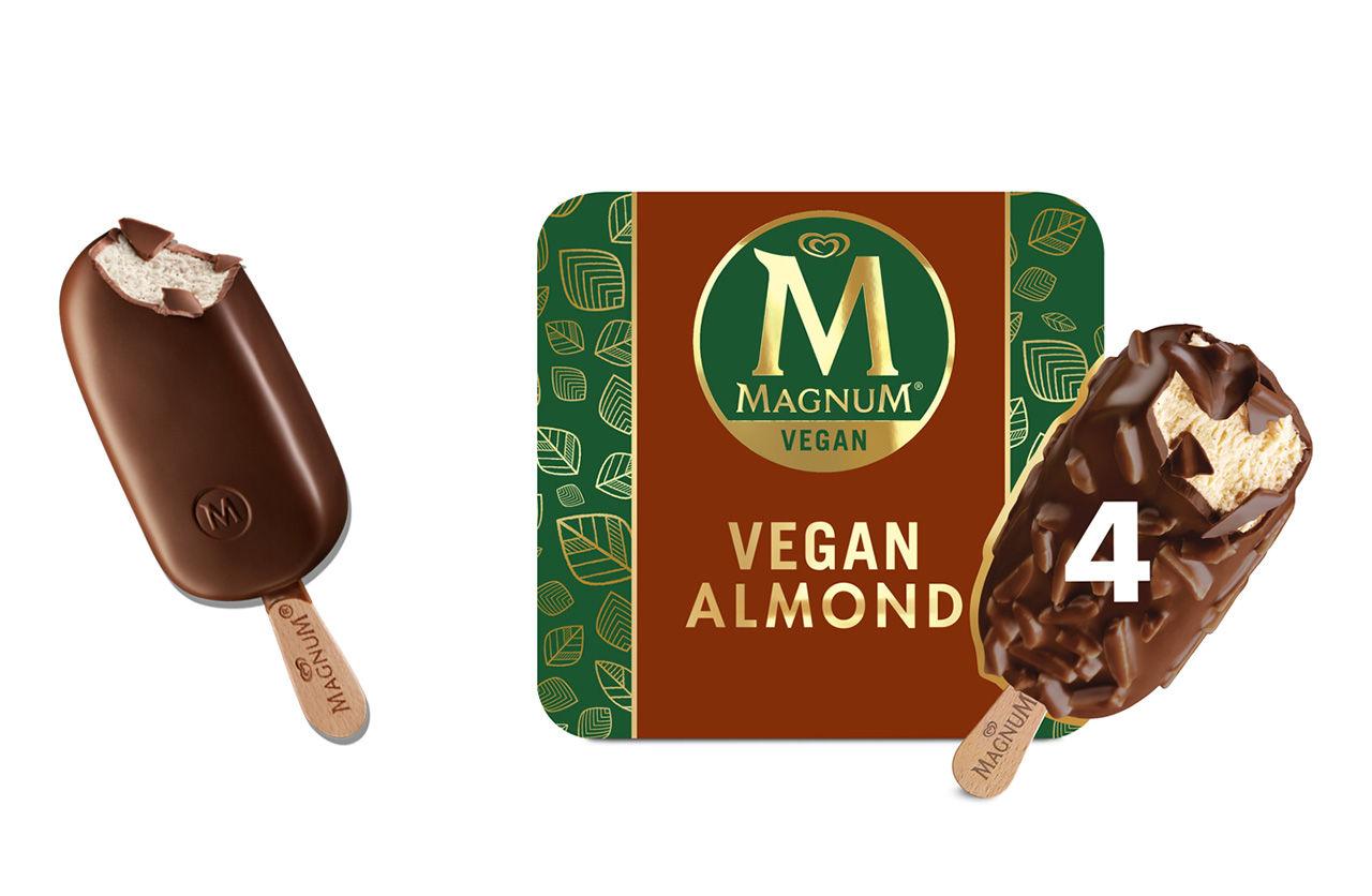 Magnum lanserar sin första veganglass