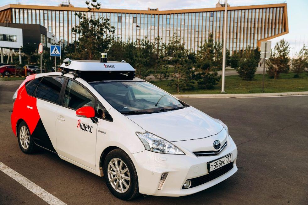 Yandex börjar testa taxitjänst med självkörande bilar