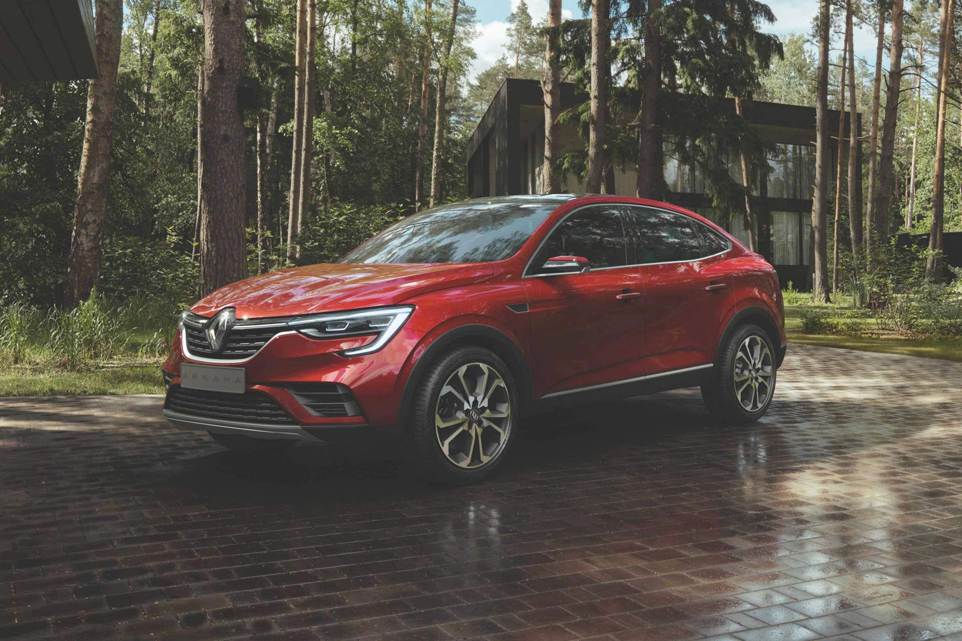 Renault beskriver nyheten Arkana som en SUV-sedan
