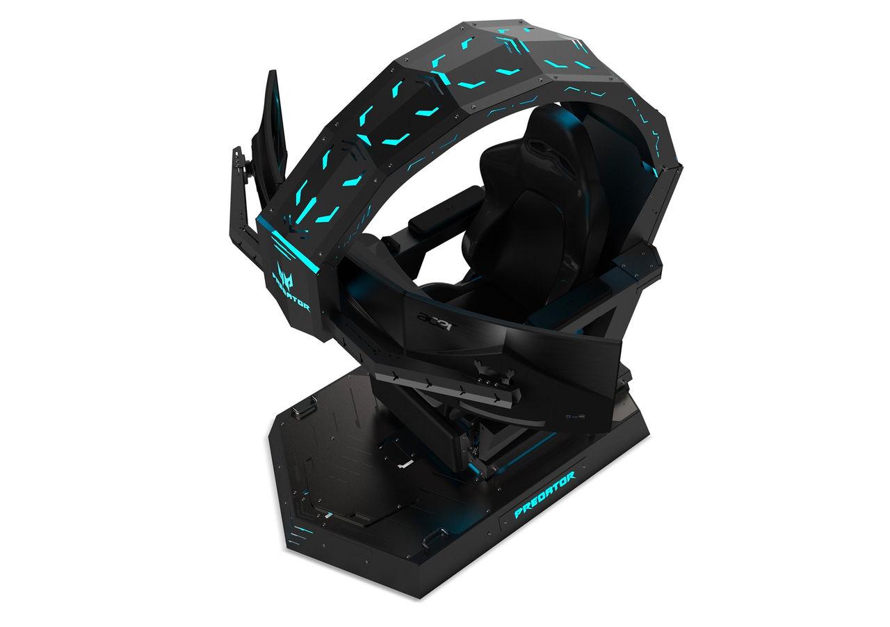 Acer presenterar gaming-stolen Predator Thronos