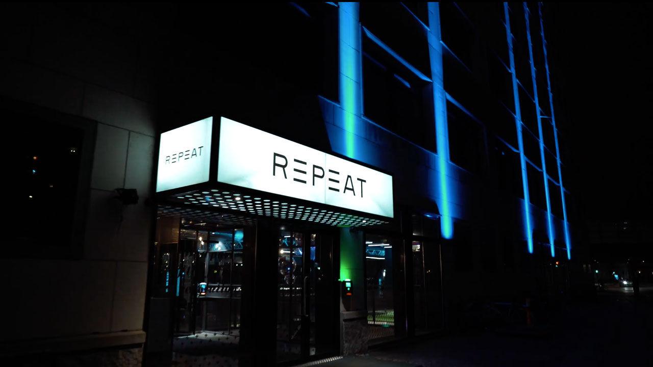 Repeat - gymmet som även är en nattklubb
