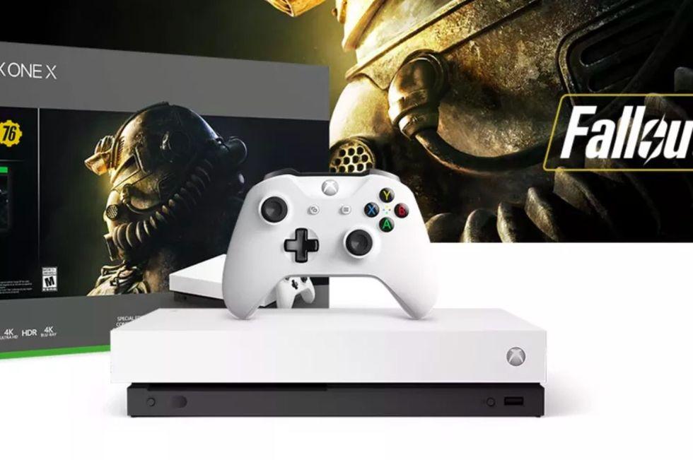 Nu kommer en vit Xbox One X-version