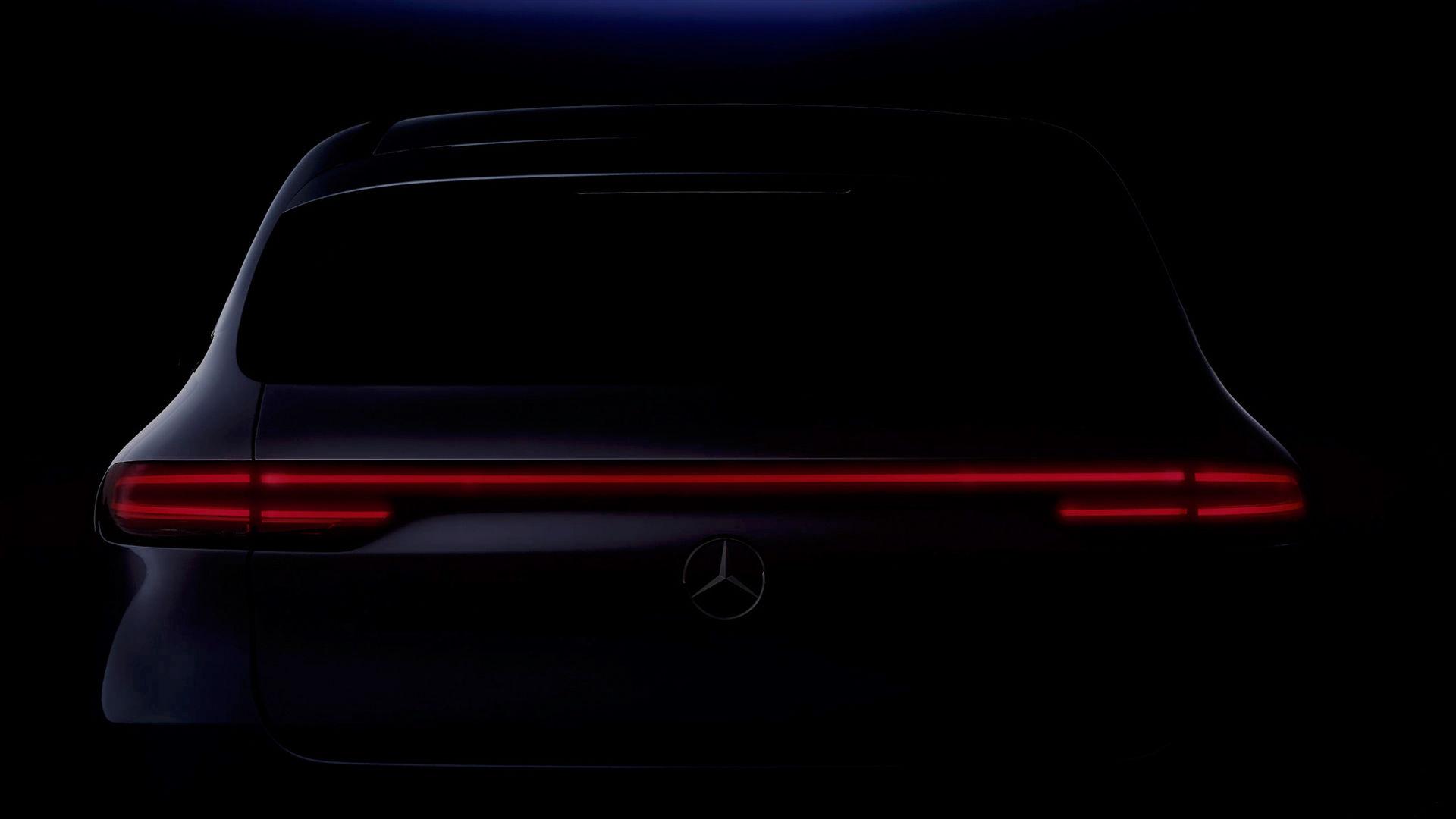 Mercedes eldrivna modell EQC har världspremiär i Stockholm