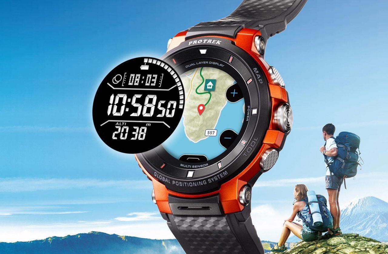 Casios smarta klocka klarar tre dagar med GPS