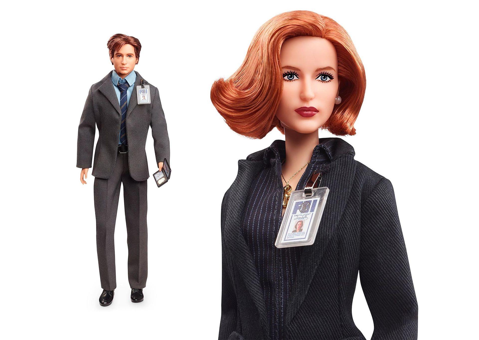 Nu kommer Mulder och Scully som Barbie-dockor