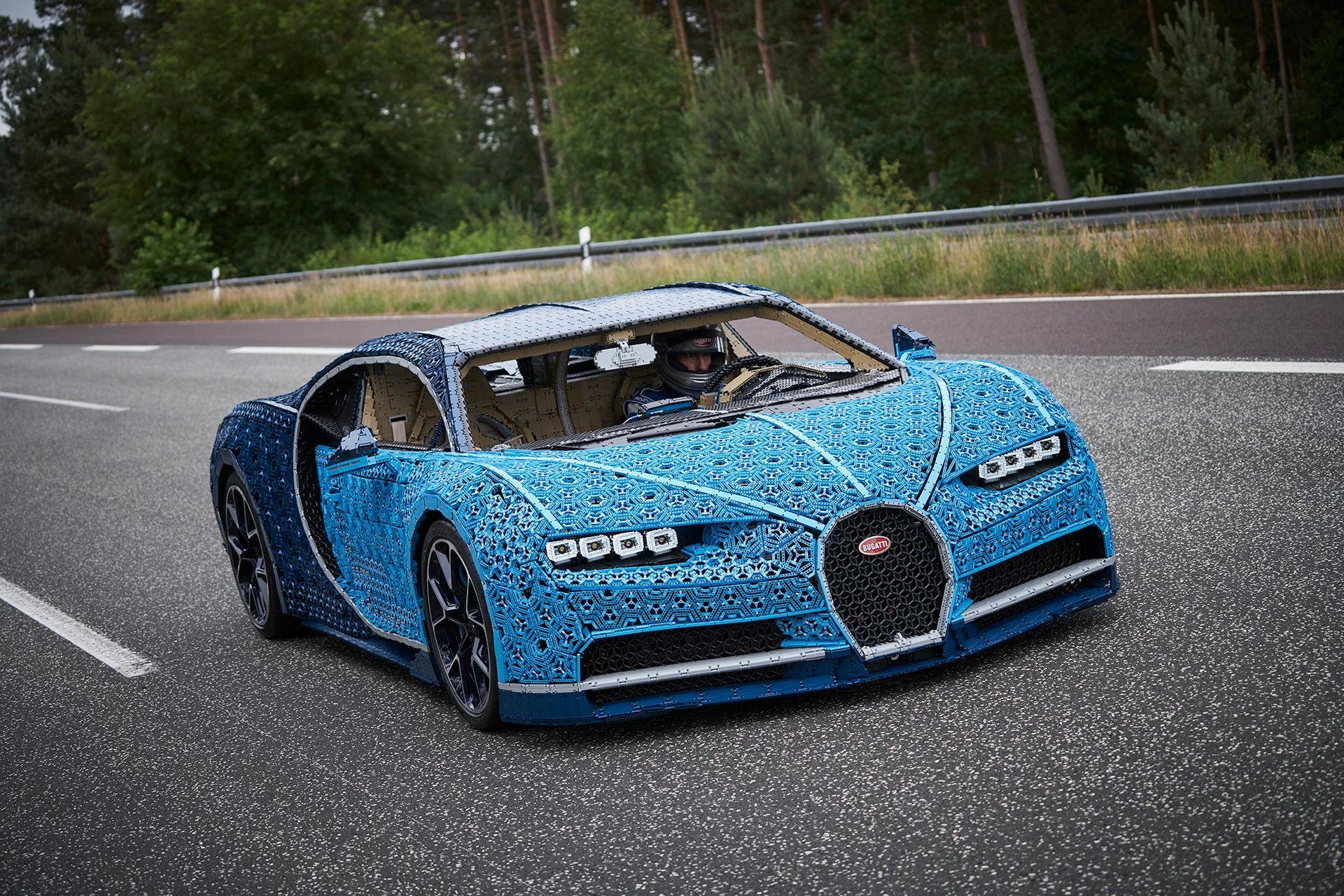 Lego har byggt en fullstor Bugatti Chiron