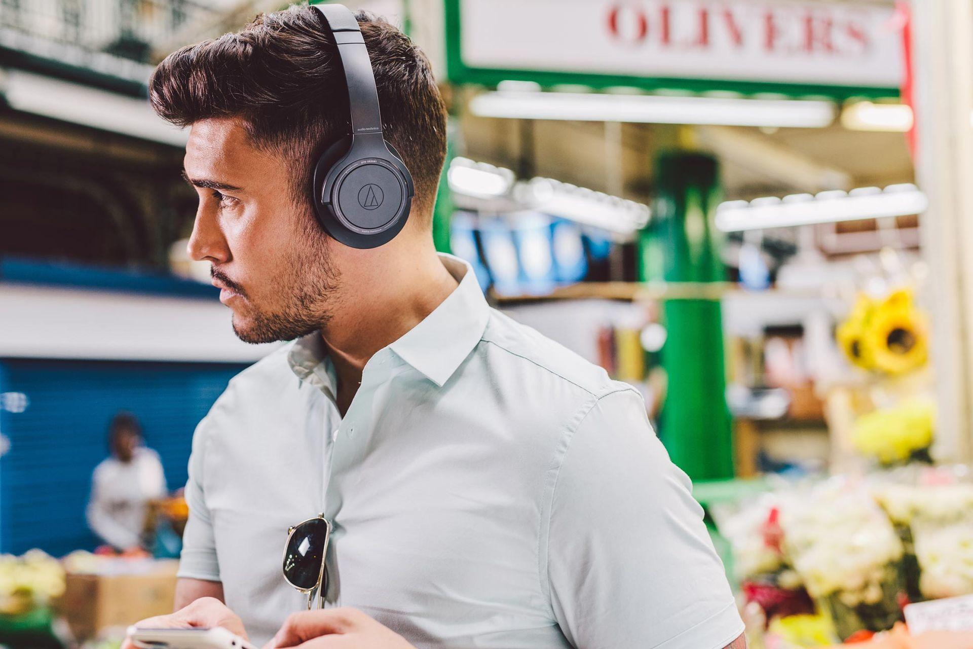 Audio-Technica släpper hörlurar med 70 timmars batteritid
