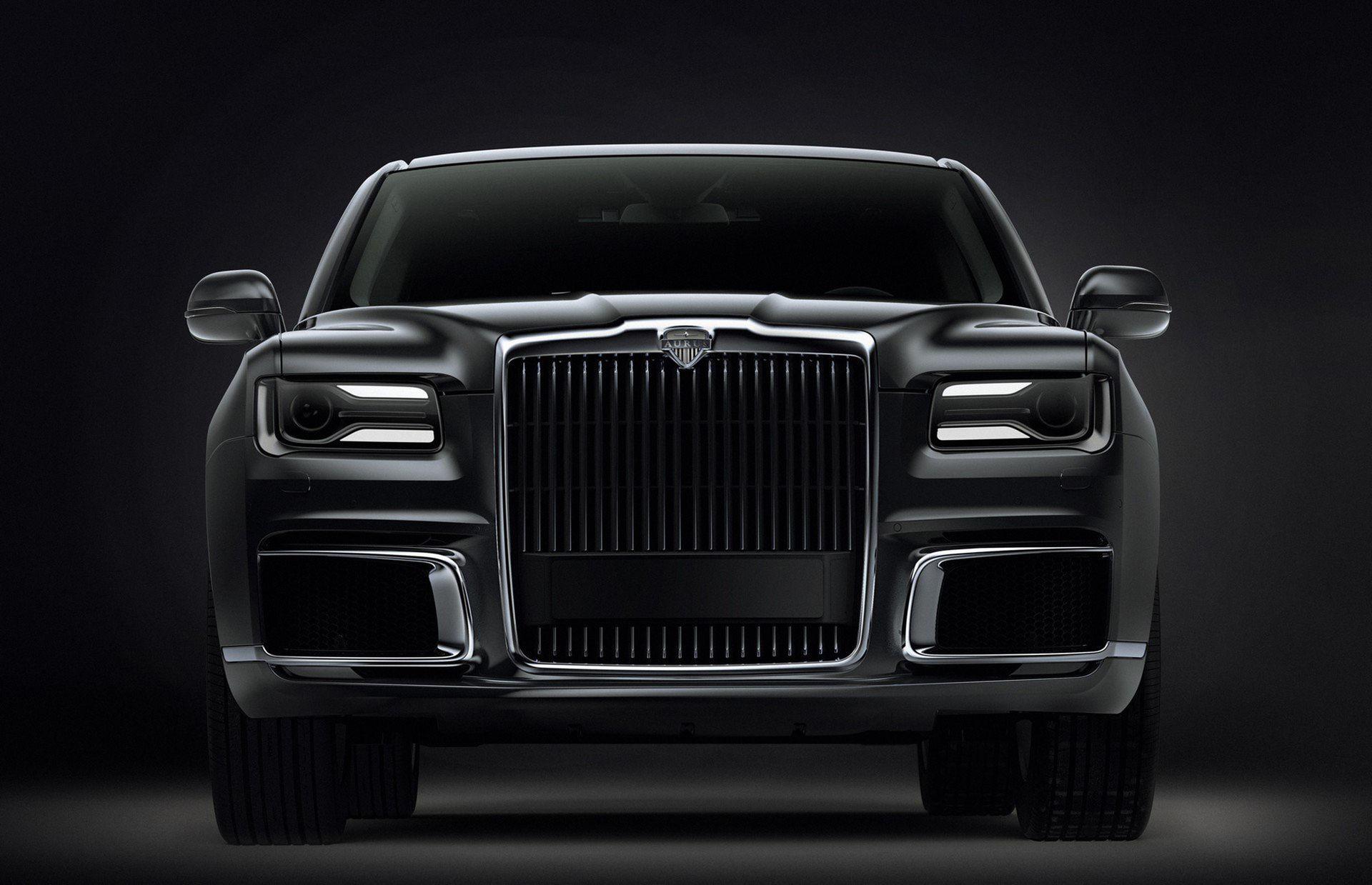 Aurus Senat är Rysslands svar på Rolls-Royce Phantom