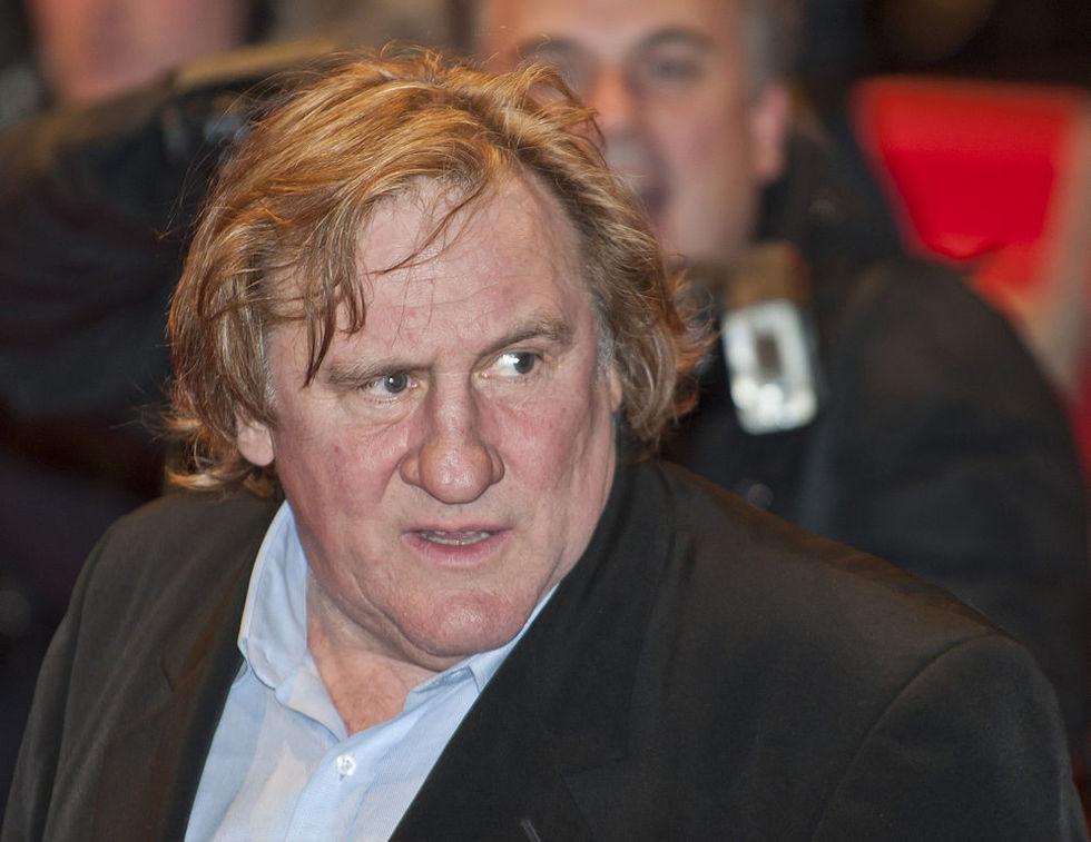 Gérard Depardieu anklagas för våldtäkt