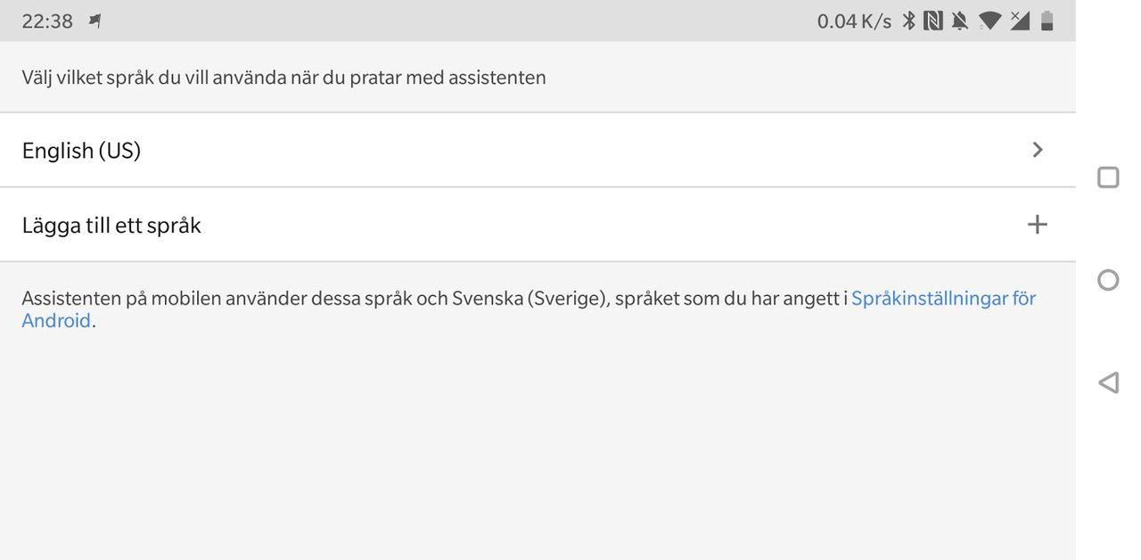 Google Assistant får flerspråksstöd