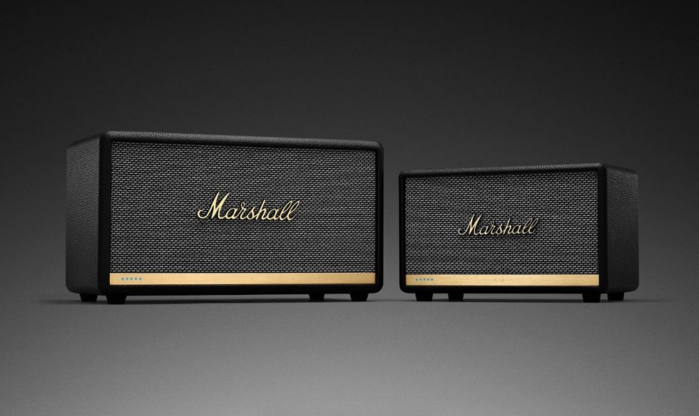 Marshall-högtalare får stöd för smarta assistenter