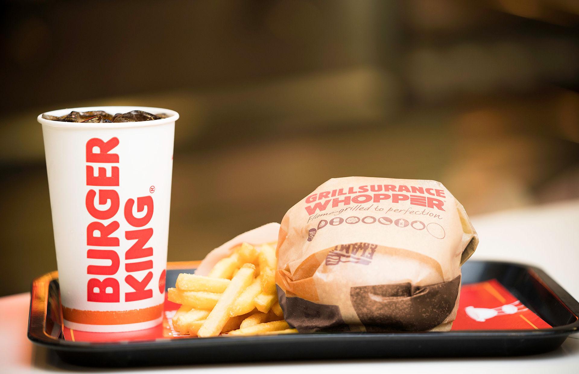 Burger King drar igång en grillförsäkring