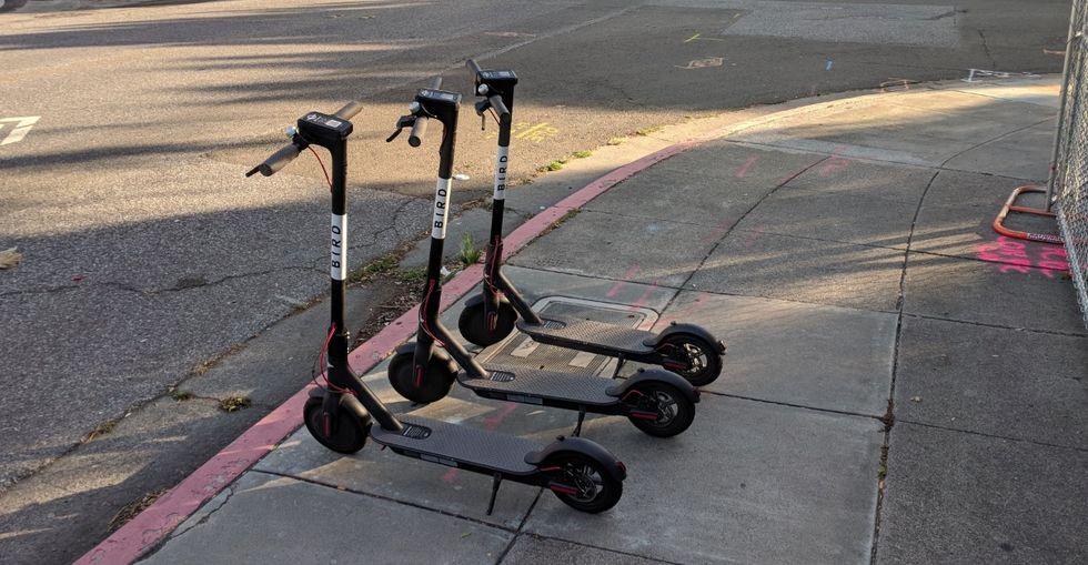 Uber vill bygga eldrivna sparkcyklar