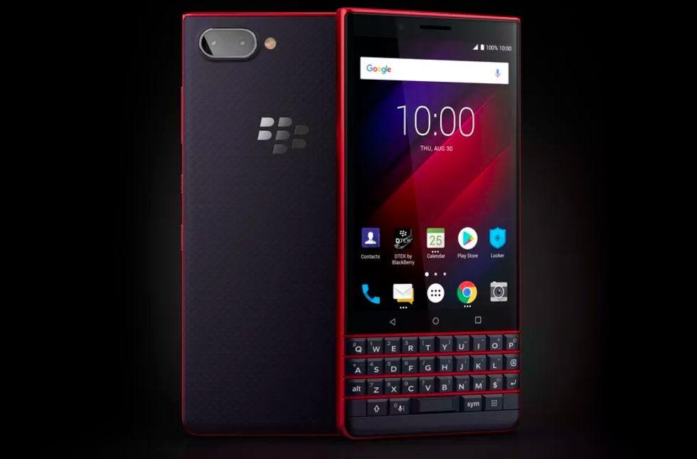 BlackBerry presenterar Key2 LE