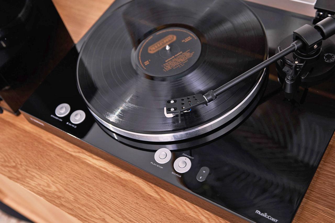 Yamaha släpper skivspelare med Spotify-stöd