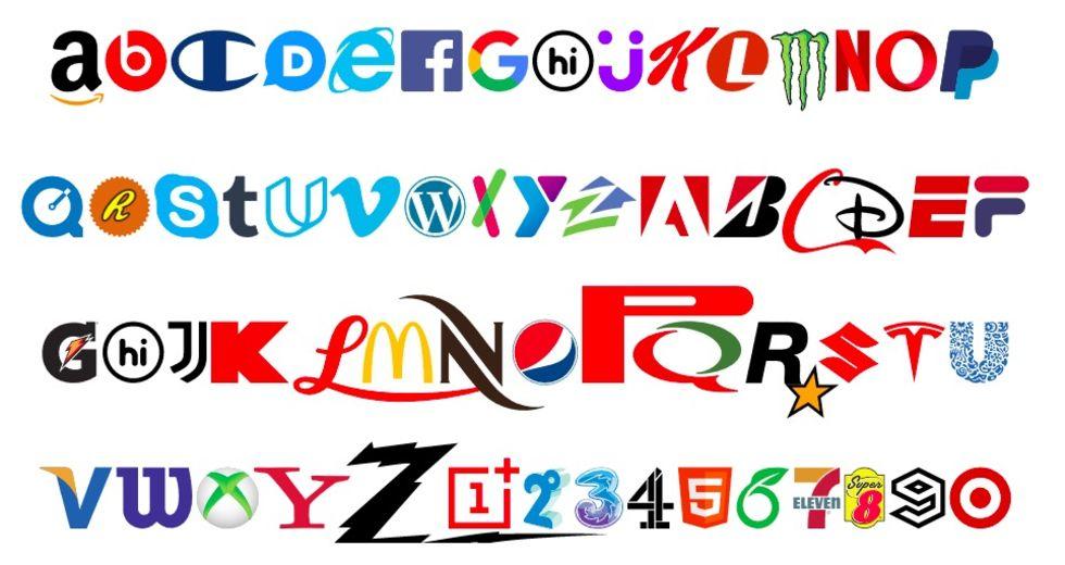 Brand New Roman Font är ett typsnitt med logotyper
