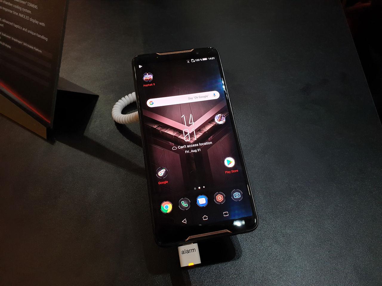 ASUS ROG Phone är förvånansvärt vettig