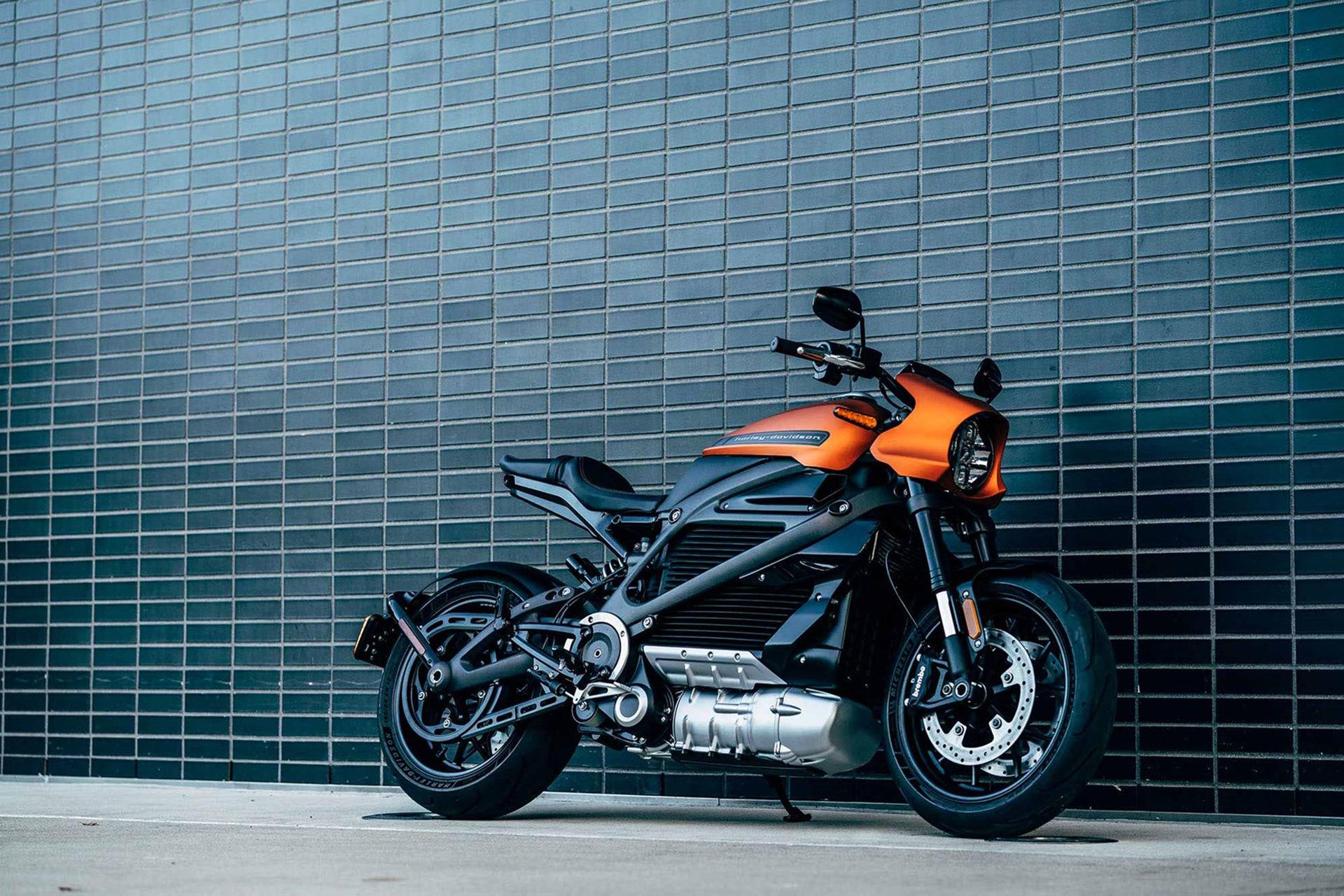 Nya bilder på Harleys eldrivna motorcykel
