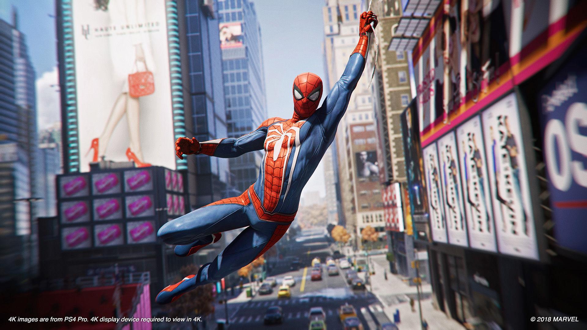 Marvel's Spider-Man svingar in som ett av årets bästa spel