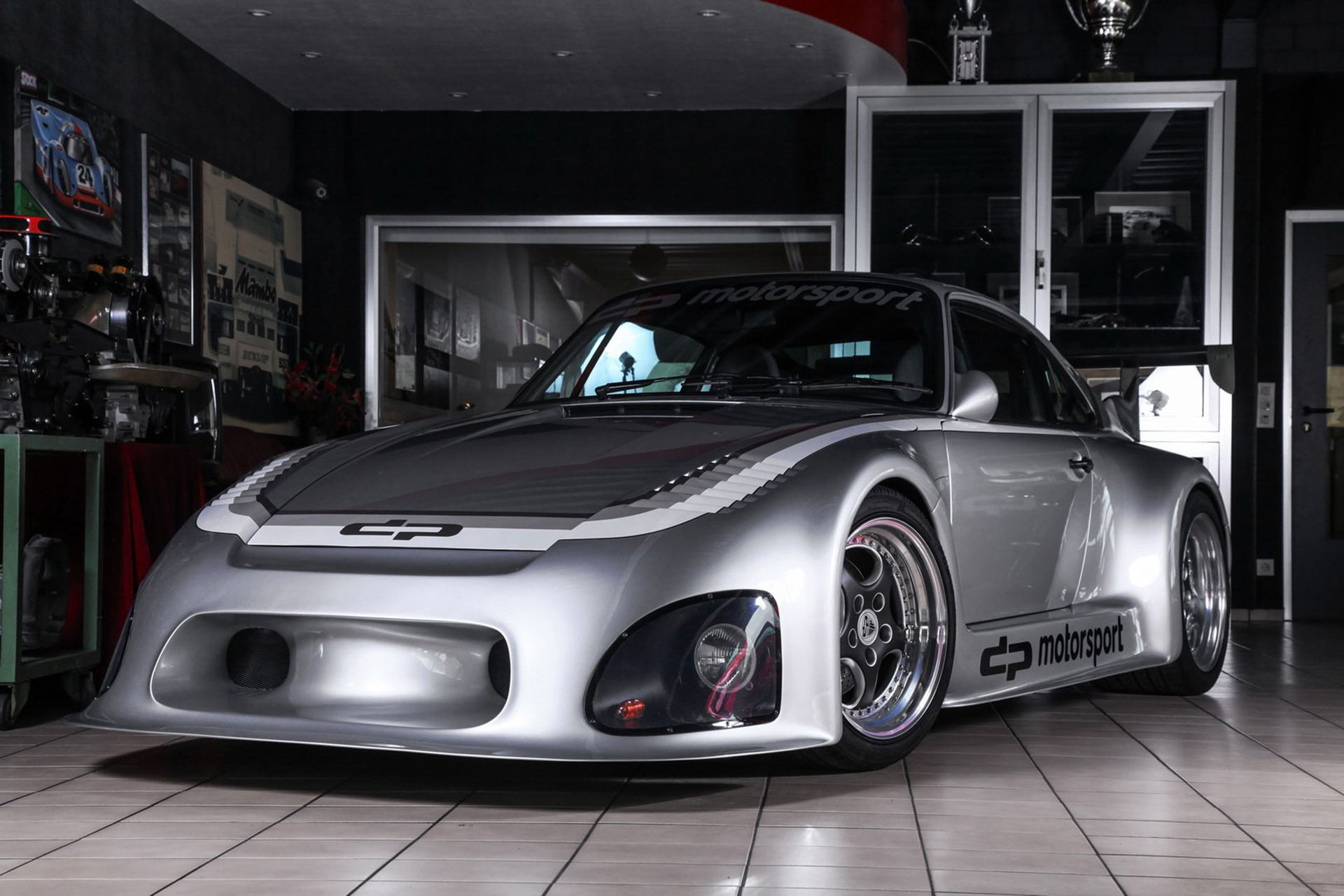 DP Motorsport har byggt en gatlegal Porsche 935
