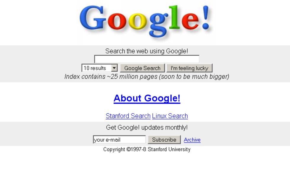 Tut i luren - idag fyller Google 20 år!