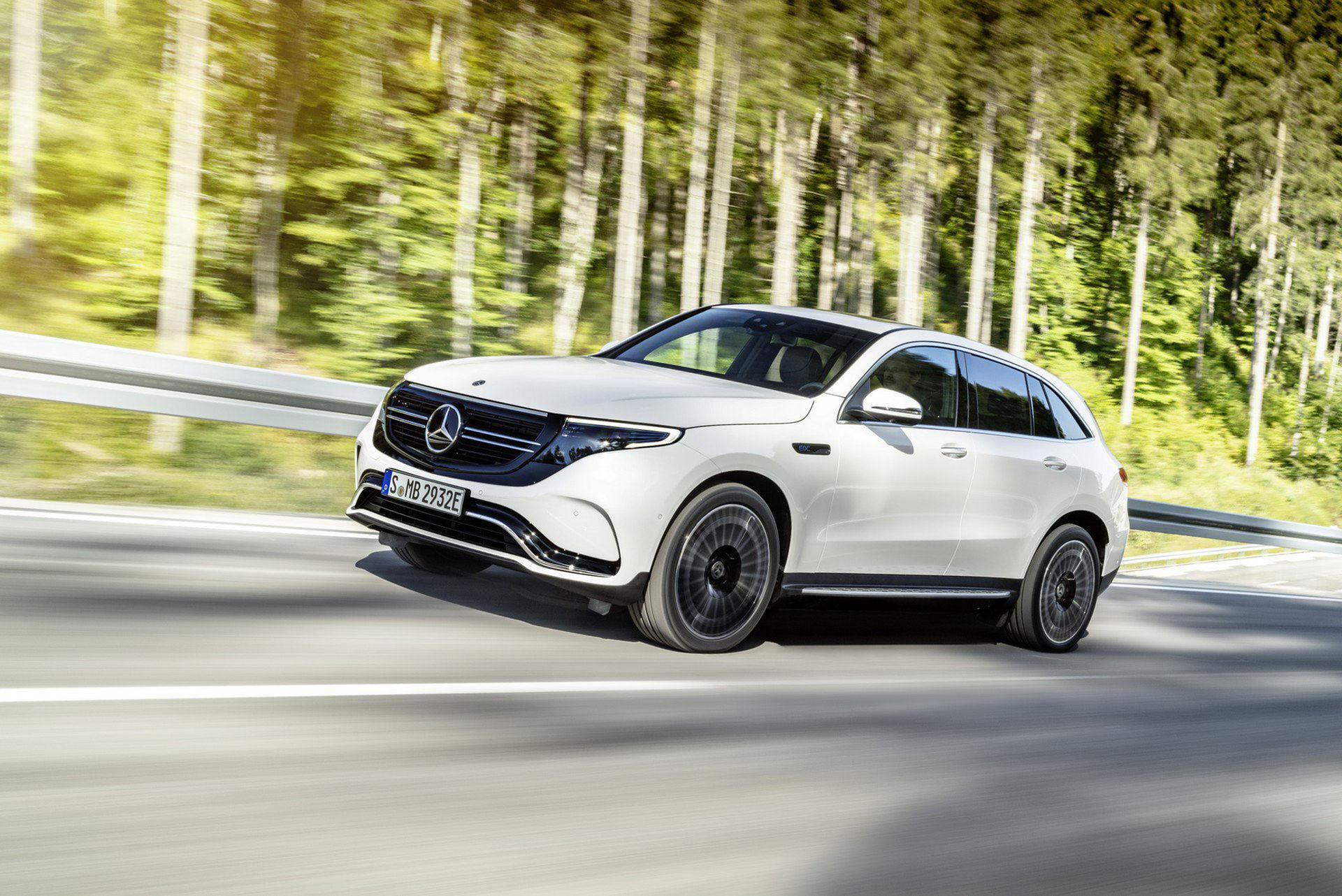 Mercedes eldrivna framtid är här