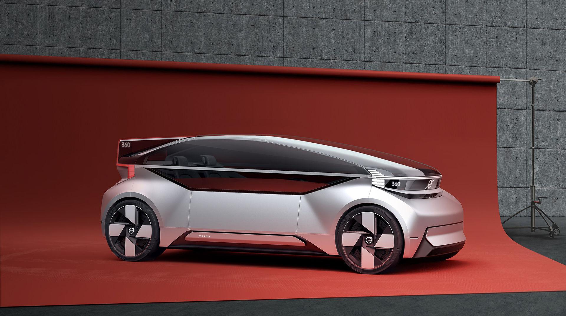 Volvo presenterar autonoma 360c