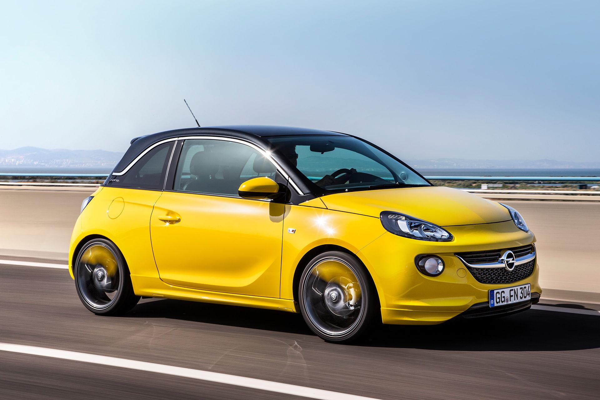 Opel lägger ned modellen Adam
